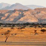 Iona National Park Angola, Africa